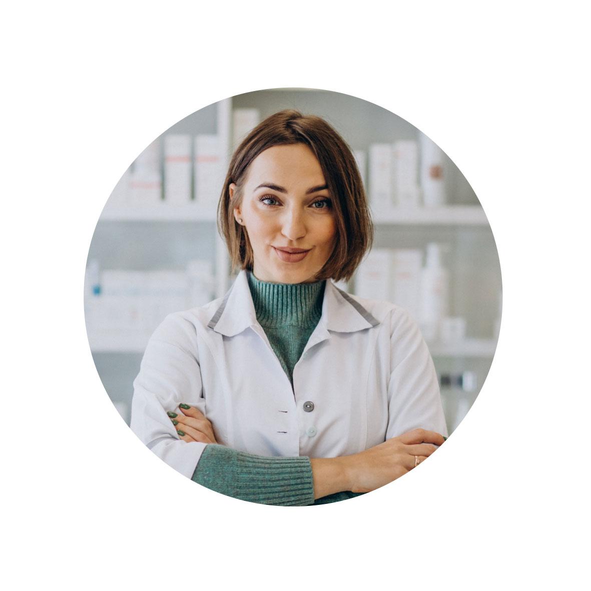 femme pharmacienne